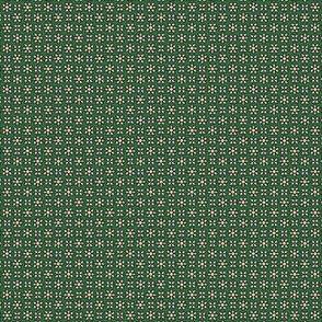 Floral Dot gray green © 2012 by Jane Walker