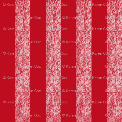 Snowy Stripe Vertical