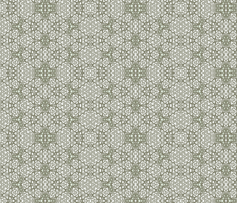 Squid Green Lobster Net fabric by wren_leyland on Spoonflower - custom fabric