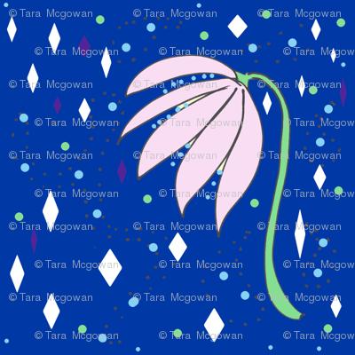Flowers Dots & Diamonds
