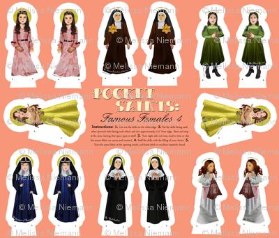 Pocket Saints: Famous Females 4