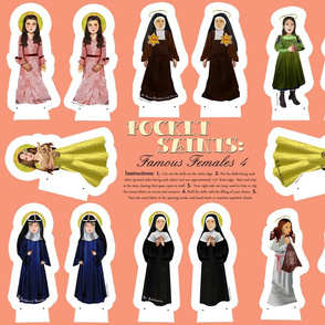 Pocket Saints: Famous Females 4