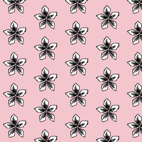 parisian pink jasmine fabric by paragonstudios on Spoonflower - custom fabric