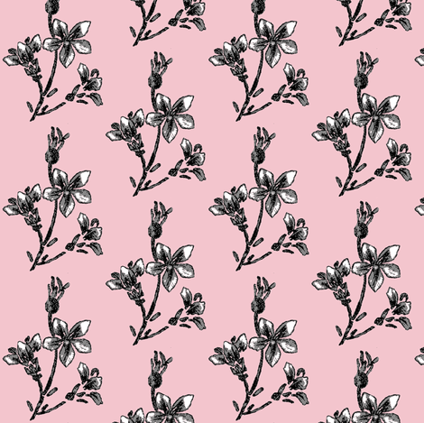 parisian jasmine twig fabric by paragonstudios on Spoonflower - custom fabric