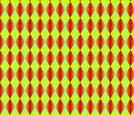 Harlequin Flaming Colors fabric by glimmericks on Spoonflower - custom fabric