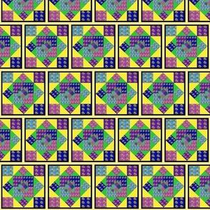 Buncha Lilies Multi Squares