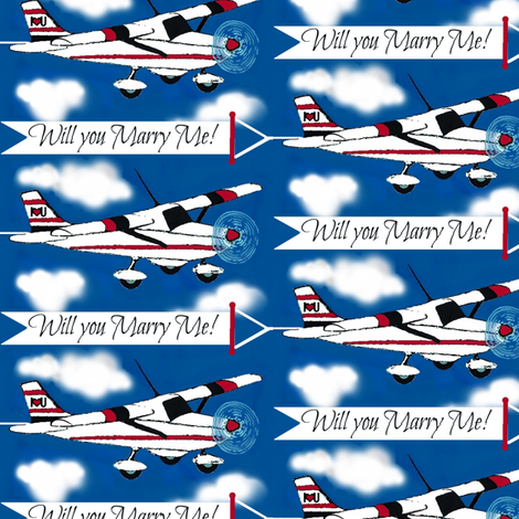 Marry Me fabric by paragonstudios on Spoonflower - custom fabric