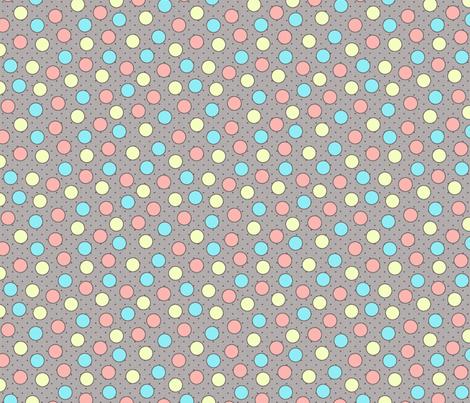 BEAU_FLEUR_spots_candy fabric by glorydaze on Spoonflower - custom fabric