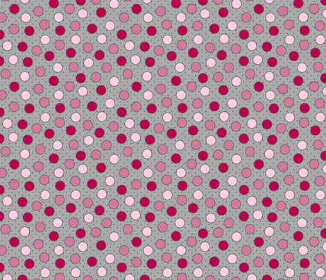 BEAU_FLEUR_spots_rose fabric by glorydaze on Spoonflower - custom fabric