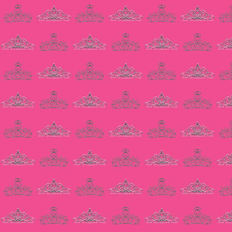 candy tiara fabric by kerryn on Spoonflower - custom fabric