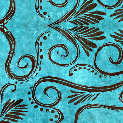 cantigny, cocktail fabric by hooeybatiks on Spoonflower - custom fabric