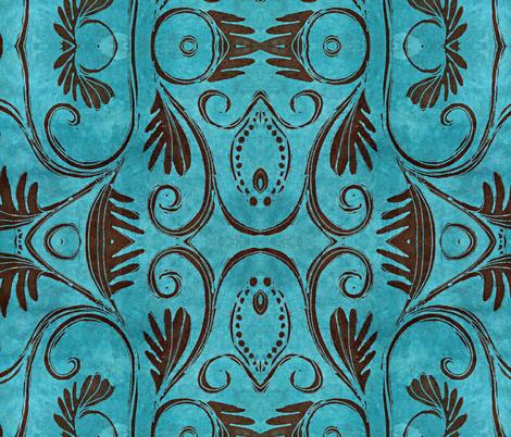 Cantigny, less giant fabric by hooeybatiks on Spoonflower - custom fabric