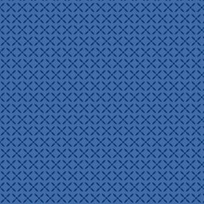 Four Petals (Blue/Violet)