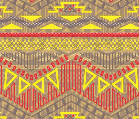 0007_GUAJIRO_110312 fabric by sandramunoz1 on Spoonflower - custom fabric