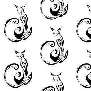 Inkblot Cat