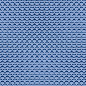 Hills and Valleys (Blue/Violet)