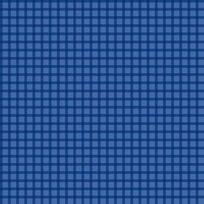 Goofy Four Patch (Blue/Violet)