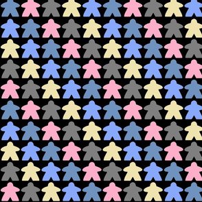 Meeple Stripe - Dark Candy