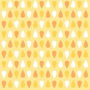 Tiny gouttes oranges