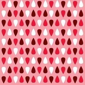 Tiny gouttes rouges