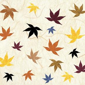 Washi Maple Leaves