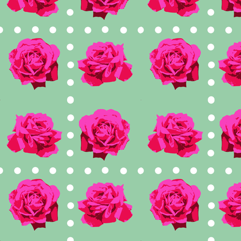 1955_roses_final fabric by mysticalarts on Spoonflower - custom fabric
