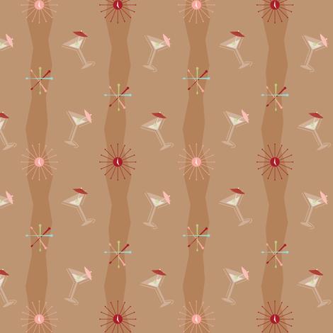 Swizzles-A-Go-Go fabric by bobbifox on Spoonflower - custom fabric