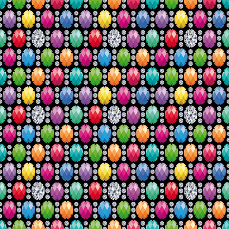 Cabochon fabric by cassiopee on Spoonflower - custom fabric