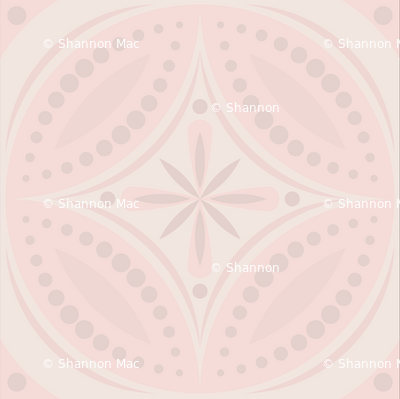 Moroccan Tiles (pale pink)