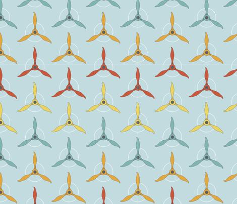 aviation fabric by gabriellekingsley on Spoonflower - custom fabric