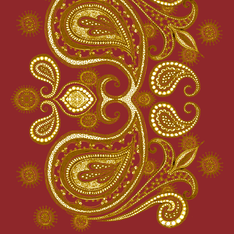 Midas Effect fabric by joonmoon on Spoonflower - custom fabric