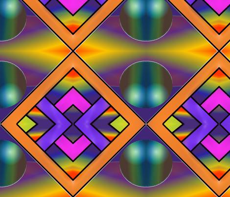 cosmic bubble by mandybeau fabric by mandybeau on Spoonflower - custom fabric