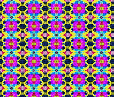 Tye Dye Patchwork fabric by robin_rice on Spoonflower - custom fabric