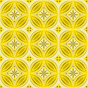 Moroccan Tiles (Yellow)