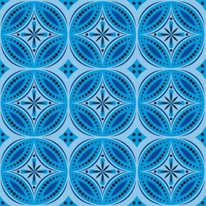 Moroccan Tiles (Blue)