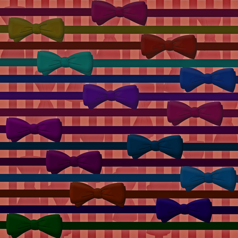 bowtied_for_success fabric by pintuckprovisions on Spoonflower - custom fabric