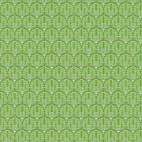 FOREST WINDOW GREEN micro20 fabric by glimmericks on Spoonflower - custom fabric