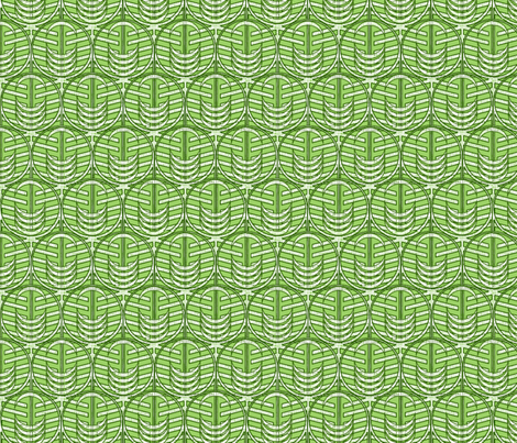 FOREST WINDOW GREEN -ed fabric by glimmericks on Spoonflower - custom fabric