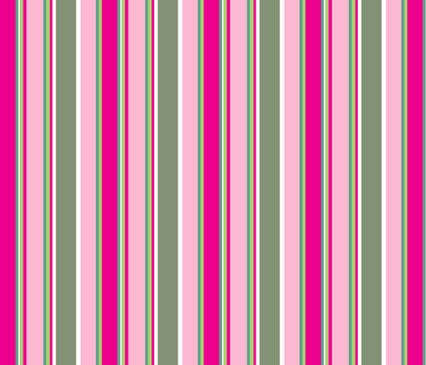 Bright Stripes fabric by delsie on Spoonflower - custom fabric