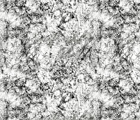 Black_Batik_Crackle fabric by house_of_heasman on Spoonflower - custom fabric