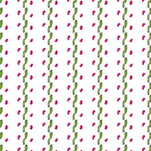 Pastel Ribbon Embroidery Illusion -- in cerise and green