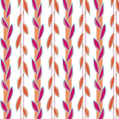 garden vines - fruit salad fabric by fox&lark on Spoonflower - custom fabric