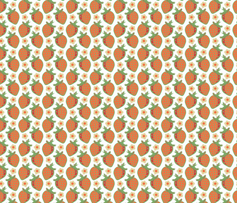 Fresh Country Berry fabric by eppiepeppercorn on Spoonflower - custom fabric