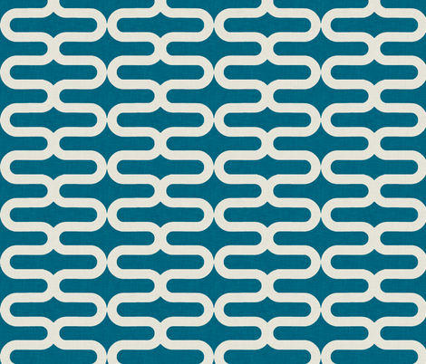 kunda_linen_ocean_large fabric by holli_zollinger on Spoonflower - custom fabric