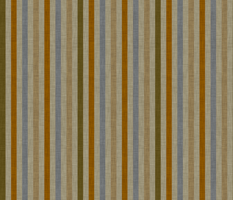 burlap_stripes fabric by holli_zollinger on Spoonflower - custom fabric