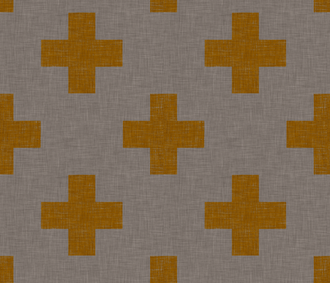 burlap_plus_one fabric by holli_zollinger on Spoonflower - custom fabric