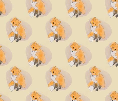 Mr Fox fabric by rarofabrics on Spoonflower - custom fabric