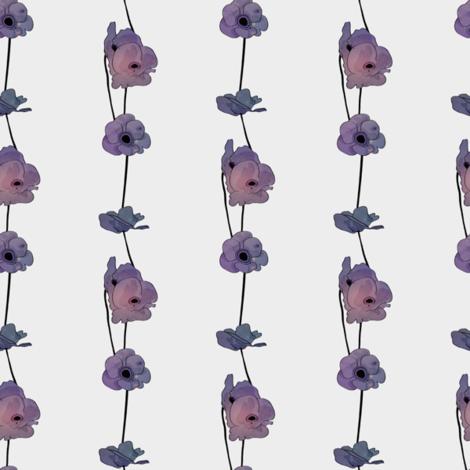 Galaxy Poppies fabric by rarofabrics on Spoonflower - custom fabric