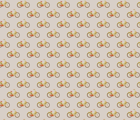 Retro Bike fabric by rarofabrics on Spoonflower - custom fabric