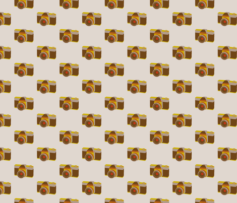 Retro Camera fabric by rarofabrics on Spoonflower - custom fabric